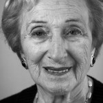 Freda Wineman, born in France 1923. Auschwitz and Terezin camp survivor.