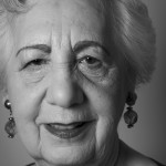Helen Aronson (85) born in Poland 1927. One of few Lodz Ghetto survivors.