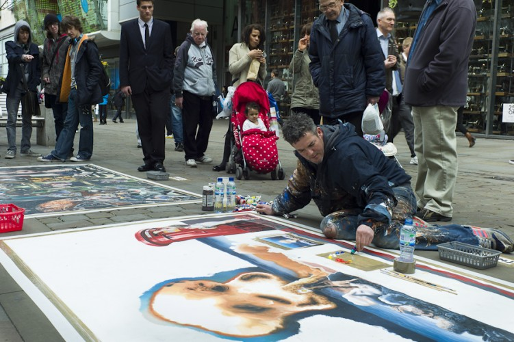 Street Artist Manchester - Photo © Rena Pearl