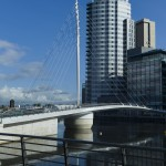 Media City Footbridge Salford Quays Manchester
