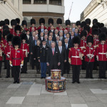 Royal Scots Guards with CEO's & Presidents of YPO 2013