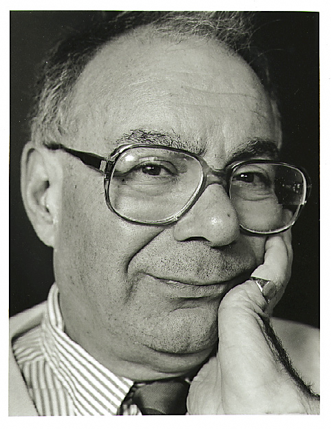 Portrait of Rabbi Lionel Blue