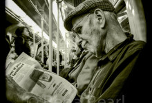 Portrait on the Northern Line